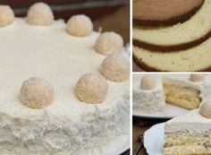 Fantastický raffaello krém do různých dezertů Appetizer Recipes, Appetizers, Vanilla Cake, Baking, Cheesecake, Mascarpone, Raffaello, Starter Recipes, Appetizer
