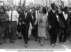 civil rights march. I remember these.