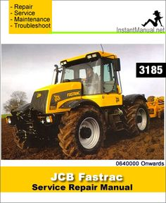 download jcb 8250 fastrac service repair manual pdf jcb fastrac rh pinterest com JCB Products JCB Skid Steer