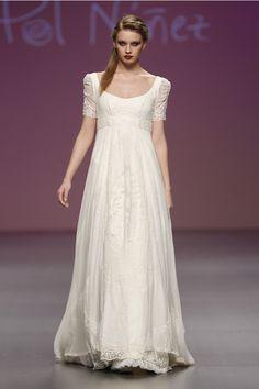 Vestidos de novias Cibeles 2013 - Pol Nuñez