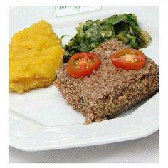 Entre as opção do nosso cardápio... Quibe assado com recheio de vinagrete Acompanha Arroz Integral e  Purê de Cabotiã.  ligue (17)3022-21773222 5632 ou Whatsapp 98223 8003 #lightfoodway #delivery  #saúde #quibeassado #alimentaçãobalanceada #refeições #light #dieta #detox #suco #almoço #jantar #lanche #refeiçãocompleta #semglúten #lowcarb #sejalightfoodway #esseéocaminho    by lightfoodway