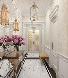 For more decor inspirations and decor ideas visit www.bessadesign.com Interior design entrance hall