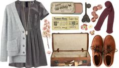 """""""Ticket to Ride"""" by michlouisa ❤ liked on Polyvore"""