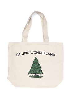 Pacific Wonderland Tote - Bridge & Burn - Portland, Oregon
