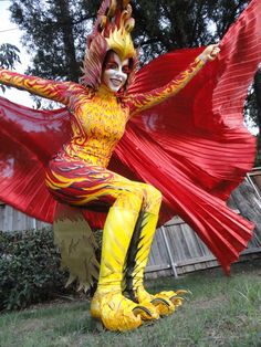 I'm definitely adapting this at some point to something. Picture of The Phoenix Costume Process