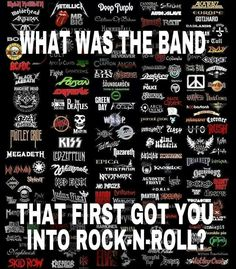 Gosh - it's so hard to say---> Led Zeppelin, ZZTop, Pink Floyd, Kiss, Lynyrd Skynyrd, Aerosmith, Boston, Moxy, Ted Nugent, Deep Purple, Steve Miller, Kansas,The Clash, Toto, Rush, AC/DC, Heart, Duran Duran, Elton John, Van Halen, Moody Blues, Nazareth, Jefferson Airplane, Peter Frampton, Allman Brothers, Santana, Fleetwod Mac, Foghat, Bad Comany. 3 Dog Night, Santana, Eagles, Stevie Ray Vaughan, Van Halen, Jimi Hendrix --->Just SOME of the Bands that I was listening to in Jr High & High…
