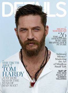 Tom Hardy Shows Off Insane Muscles in Shirtless Details Spread: See the Sexy Pics!  Tom Hardy, Details Magazine