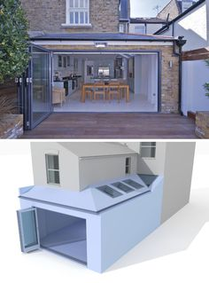 5 Brilliant Simple Ideas: Shed Roofing Pergola roofing tiles colors.Green Shed Roofing. Pergola With Roof, Pergola Shade, Patio Roof, Pergola Kits, Pergola Ideas, Flat Roof House Designs, Roof Extension, Cottage Extension, Side Return Extension