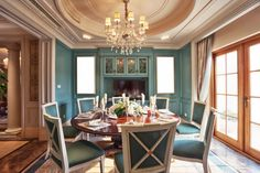 Go ahead and transform that dining room into a space that you want to use again and again #home #decor