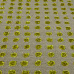 Buy Harlequin Momentum Polka Woven Velvet Fabric, Linden, Price Band G Online at johnlewis.com John Lewis, Cushions, Velvet, Band, Living Room, Rugs, Fabric, Stuff To Buy, Home Decor