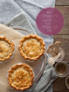 Ron Weasley's Everything But the Kitchen Sink Pie recipe.