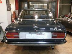 """BMW 3.0 S - E3 SEDAN """"NEW SIX"""" 2.986 CC., 180 CV, MOTOR M30 6 CILINDROS, CAMBIO MANUAL 4 VELOCIDADES, AIRE ACONDICIONADO, DIRECCIÓN ASISTIDA, DOBLE CARBURACIÓN, FRENOS DE DISCO, RADIO-CASSETTE PHILIPS, INTERIOR EN MADERA, 5 LLANTAS BMW ALPINA, MUY ORIGINAL, 5 PLAZAS, PERFECTO ESTADO DE PLANCHA Y PINTURA, COLOR ATLANTIC BLUE, MUY BUEN ESTADO, CORRECTO FUNCIONAMIENTO, MATRÍCULA ORIGINAL, DOCUMENTACIÓN e ITV AL DÍA. PRECIO: 9.500.- € + INFO: http://www.antequeraclassic.com/catalogo/bmw-3000s-e3"""