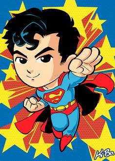 Superman Art Card by K-Bo. by kevinbolk.deviantart.com on @deviantART
