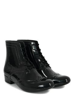 flat ankle boot from Melissa Shoes