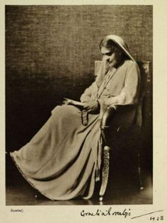From the Untold Lives blog post 'Cornelia Calling'. Image: Cornelia Sorabji, India Calling (1934). First woman to study law at Oxford & become a barrister was an Indian woman.