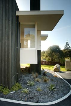 Seocnd view of Waikanae House - not sure what the other cladding is