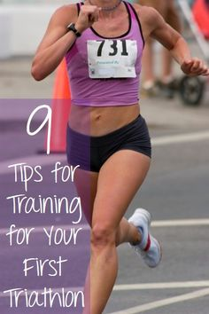 Are you looking for a fun way to lose some weight or get into better shape.  Try a triathlon!  Here are 9 Tips for Training for Your First Triathlon.