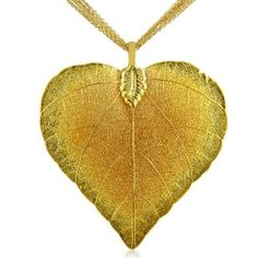 Heart Shaped 24K Gold Overlay Leaf Pendant on Multi Chain Necklace SuperJeweler. $29.95. Manufactured by SuperJeweler. All purchases from SuperJeweler come with The SuperJeweler Lifetime Guarantee. Your SuperJeweler jewelry purchase includes a lifetime guarantee against the loss of side stones or damage to the jewelry's setting or center stone. It also includes a one-year replacement guarantee against the loss of your jewelry's center stone.. Chain Length: inches...