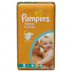 OK Pampers disposable diaper  Sleep & Play 3 Midi 58 pcs