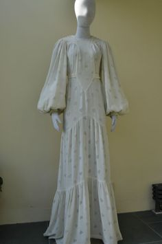 Ossie Clark/ Wedding Dresss
