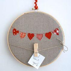 clothesline message hoop
