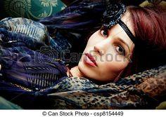 Stock Photo - fashion portrait - stock image, images, royalty free photo, stock photos, stock photograph, stock photographs, picture, pictures, graphic, graphics