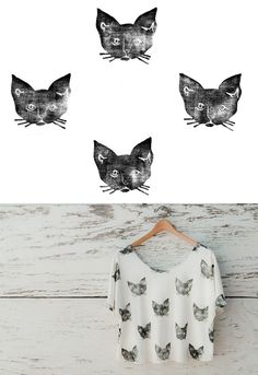 Kitty Cat Print    http://www.leahgoren.com/index.php?/patterns/cats/#