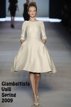 Giambattista Valli 50s dress