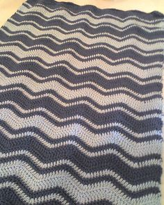 Ravelry: Ripple Baby Blanket pattern by Judy Hice
