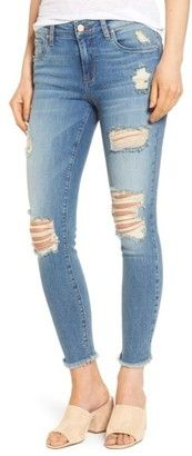 Shop Now - >  https://api.shopstyle.com/action/apiVisitRetailer?id=655394775&pid=uid6996-25233114-59 Women's Bp. Ripped Crop Skinny Jeans  ...