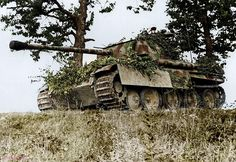 GERMAN PANTHER, FRANCE 1944