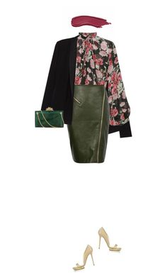 """""""Untitled #543"""" by fanfan-zheng ❤ liked on Polyvore featuring beauty, American Vintage, Jill Stuart and Charlotte Olympia"""