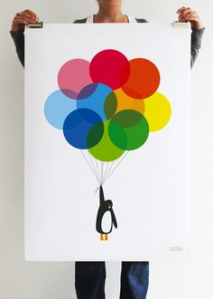 loving these colorful posters by showler & showler.