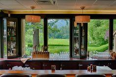 Stunning summer view from mallards bar - courtesy Sean Ogle