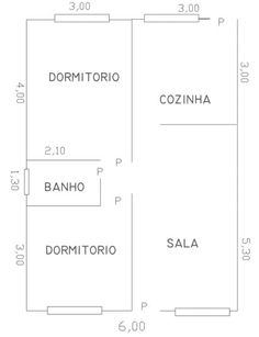 Projeto 17: 50m2