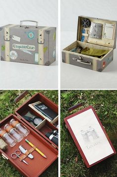 DIY Kids' Adventure Kit Tutorial from The Merry Thought here. This is such a good idea for a DIY gift a boy or girl wou...