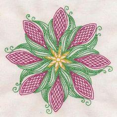 Free Embroidery Design: Mandala