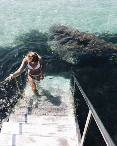 Along with better tomatoes Im adding staircases into the sea to my list of things I wish we had more of at home Summer Travel, Summer Beach, Summer Fun, Summer Feeling, Summer Vibes, Best Travel Deals, Travel Aesthetic, Summer Aesthetic, Travel Goals