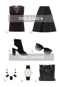 Layer It: All Black | Sacramento Street