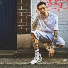 alsoisalso Pose Reference, Korean Actors, Hipster, Asian, Tattoo, Beautiful, Style, Tennis, Swag