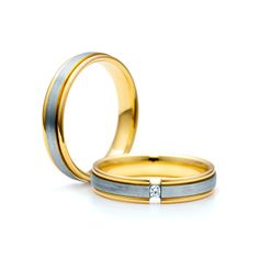 SAVICKI - Obrączki ślubne: Obrączki z dwukolorowego złota (Nr 266) - Biżuteria od 1976 r.