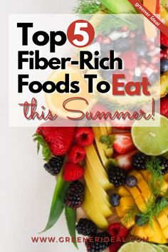 When it's #Summer the clothes get shorter, the faces get happier, the days get longer, and people's food choices become a lot cooler! But what you must ensure, is that your digestive system doesn't suffer a blow at the cost of your wandering palate during the hot summer months. Check out these 5 Fiber-Rich Foods To Eat This Summer to stay cool & be healthy. #GreenLivingTips #HealthyLivingTips #SummerTips #Foods #HealthyFoods #FiberRichFoods #Melon #SummerLiving #Strawberries #GoGreen #eathealthy