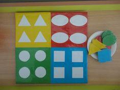 Дидактическая игра своими руками для детей раннего возраста «Цвет, форма» Фото