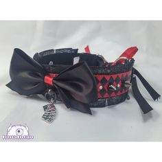 Adult Harlequin Jester Collar, Kitten Play Collar, Pet Play Collar, Choaker, Red and Black Kitten Pl - Kitten Play Gear, Kitten Play Collar, Diy Emo Clothes, Slave Collar, Mens Toys, Kittens Playing, Joker And Harley Quinn, Adult Costumes, Halloween Costumes