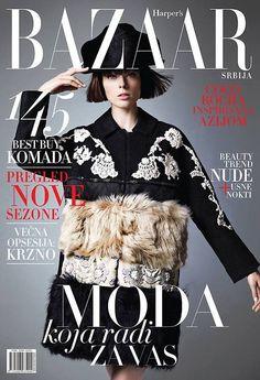 Harper's Bazaar Serbia January 2015
