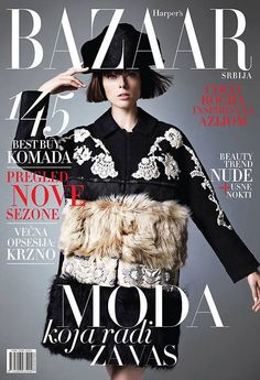 Harper's Bazaar Serbia January 2015
