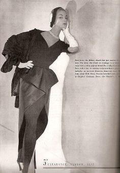 1949 Jean Patchett Vogue Magazine November
