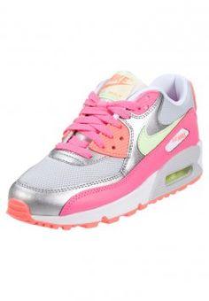 release date: 85f26 9d88c Nike Sportswear - AIR MAX 90 - Sneaker - pure platinum liquid lime metallic