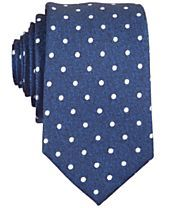 Bar III Carnaby Collection Hyde Dot Skinny Tie