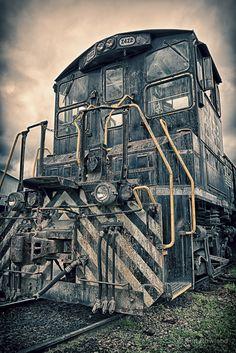 Historic Railroad Locomotive